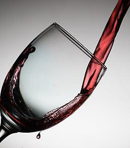 handling, alkohol, kunst, Drik, drink, elegant, flow