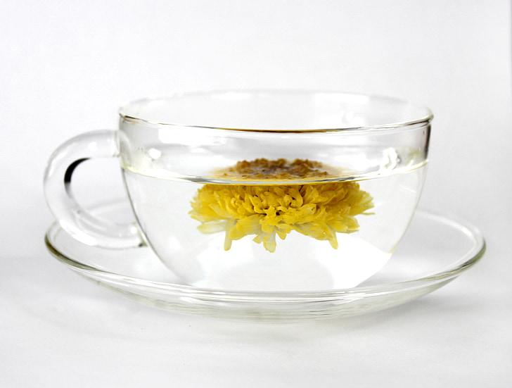 kup, čaj, čaj od krizanteme, hrana, doručak