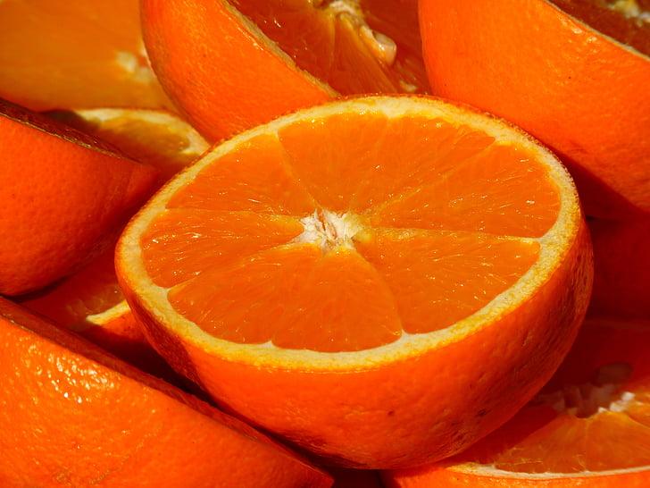 Ориндж, плодове, витамини, плодове, цитрусови плодове, храна, свежест
