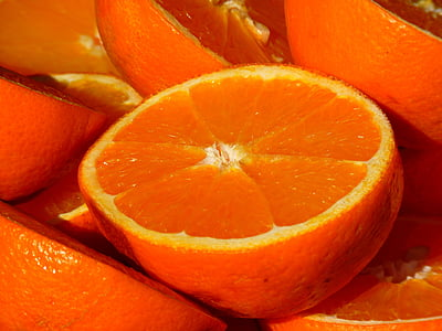 taronja, fruita, vitamines, fruites, cítrics, aliments, frescor