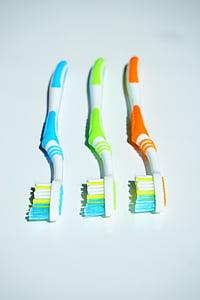 hambaharjad, hügieeni, Puhastage, hambaravi, suuhügieen, hambaharja pea, Ole tänatud
