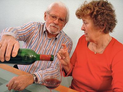veini, jook, veini klaasi, Anna on, veinipudel, punane vein, alkoholi
