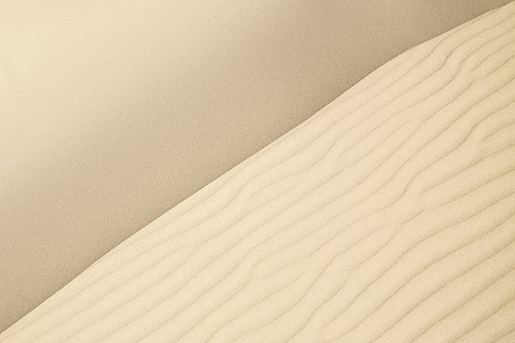 balta, virsma, daba, tuksnesis, smilts, bēšs, raksti