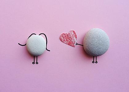 Valentine's day, Rock, nghệ thuật, thủ công, Yêu, Studio bắn, nền màu hồng