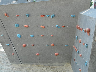 climbing wall, climbing holds, climb, handles, climbing stones, leisure, sport