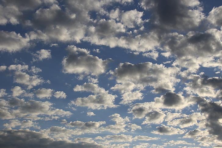 cer, dramatice, starea de spirit, formă de nori, dramatică cer