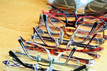 แว่นตา, sehhilfe, แว่นตาและร้านทำแว่นตา, แว่นตา, เลนส์, เลนส์, ดู