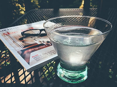 Martini, jook, jook, alkoholi, kokteil