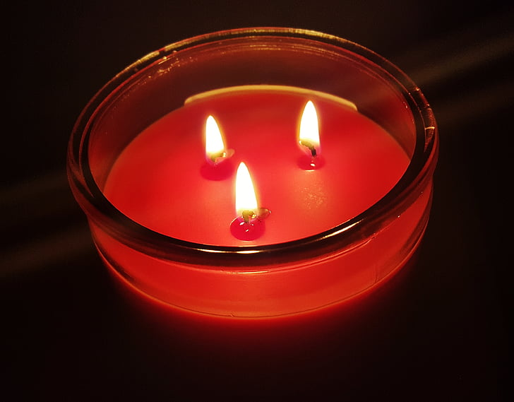 candle, wick, flame, aromatic, scented, candle wax, wax
