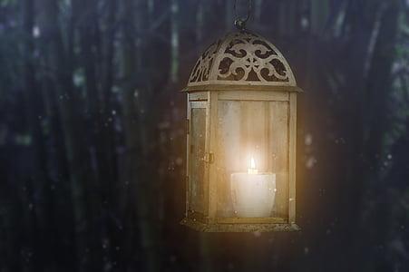 antikk, kunst, vakker, Blur, lyse, stearinlys, levende lys