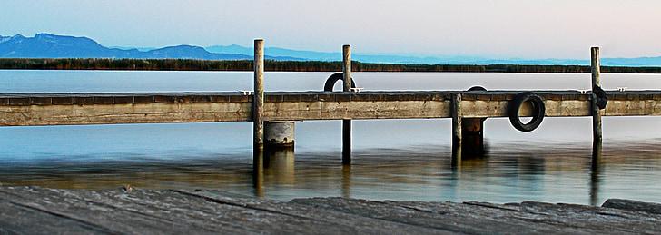 Pau, tranquil, s'Albufera, l'aigua, paisatge, arquitectura, Llac