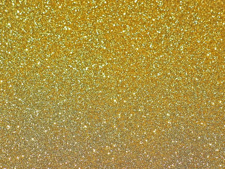Auksas, vyniojamasis popierius, fono, aukso, popieriaus, blizga, dovanos