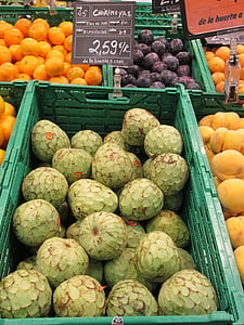 chirimoya'nın, egzotik meyveler, meyve, Pazar