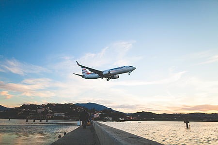 hình ảnh, trắng, Máy, máy bay, bay, bê tông, Bridge