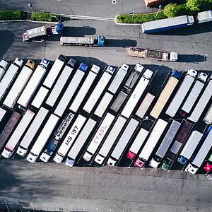 container, van, truck, vehicle, export, travel, cargo