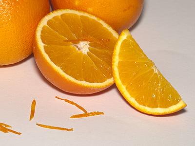 orange, fruits, délicieux, Vitmine, fruits, agrumes, Frisch