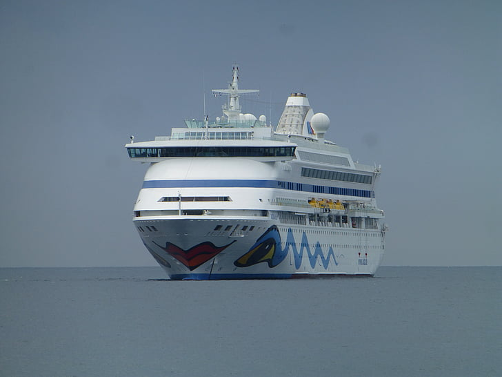 kryssning, Aida, kryssningsfartyg, havet, fartyg
