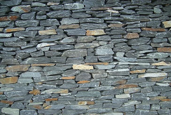 mur de pedra, paret, pedres, roques, natura, textura, guix