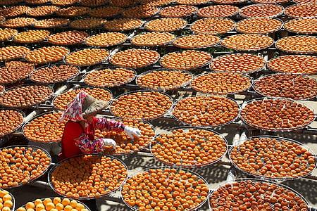 taronja, mandarina, mandarina xinesa sec, taronja sec xinès, fruita, aliments, cultura xinesa