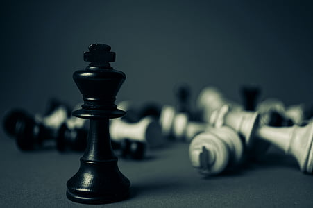 battle, blur, board game, challenge, checkmate, chess, chess pieces