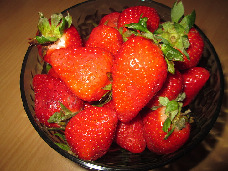 stroberi, buah, buah-buahan, Makanan, Diberkati, buah-buahan musim panas, energi