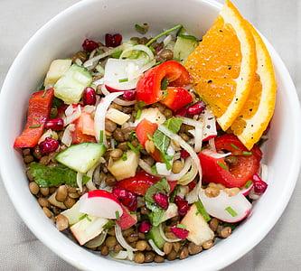 salat, Objektiivid, köögiviljad, taimetoitlane, vegan, Frisch, vitamiinid