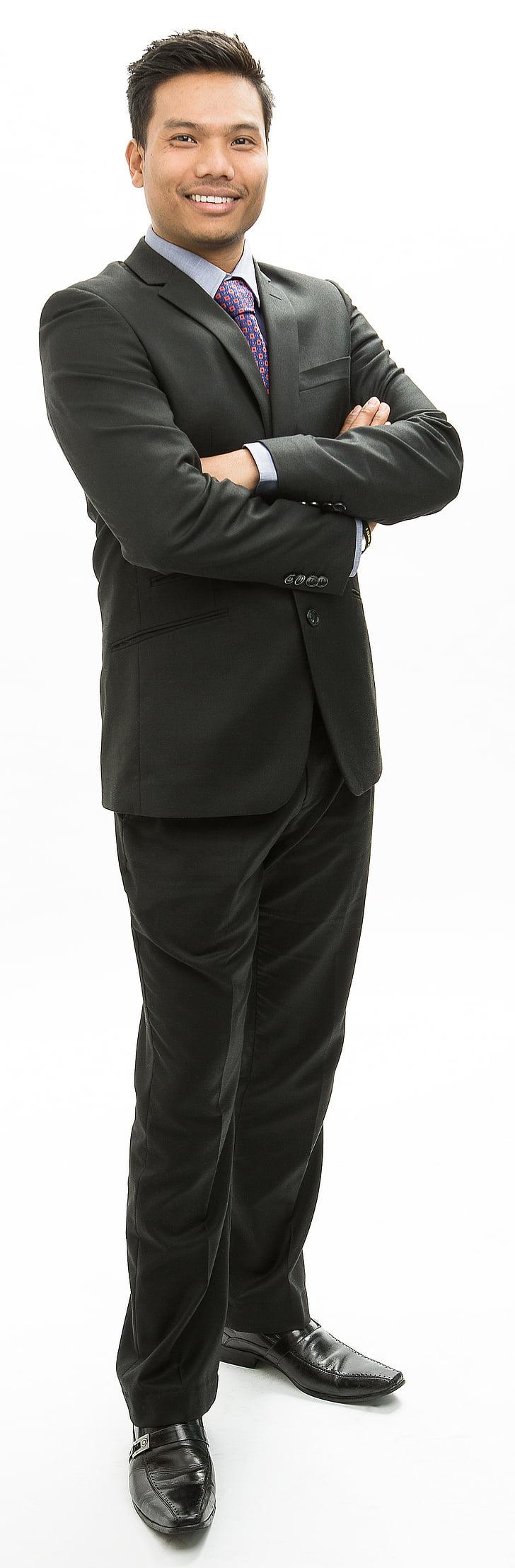 male, businessman, asian, suit, tie, model, standing
