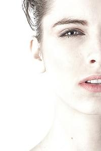 modela, žene, lijepa, Mladi model, modni, ljudski, izloženost
