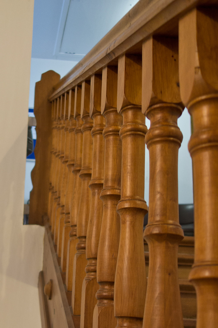 staircase, stairs, railing, emergence, architecture, rise, building