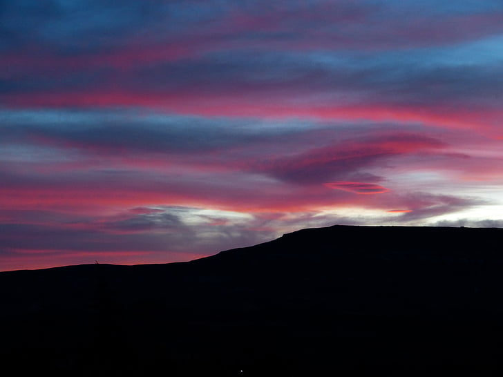 Alba, morgenstimmung, cels, cel, núvols
