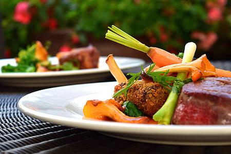 jedzenie, posiłek, zdrowe, stół, kuchnia, diety, zdrowy posiłek
