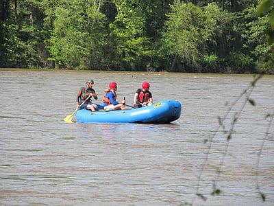 kayak, water, kayaking, sport, river, summer, activity