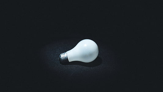 photo, light, bulb, light bulb, idea, objects, single object