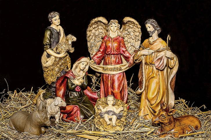 Free Slika Božićne Jasle Figure Dijete Isus Isusovo