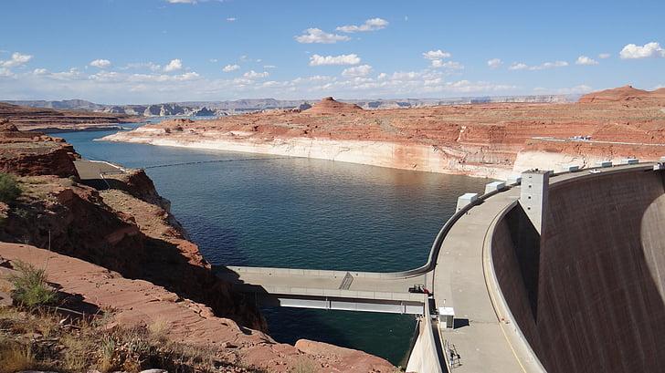 Lake, Dam, Hoa Kỳ, Glen canyon, thủy điện, thế hệ năng lượng và nhiên liệu, đập Hoover