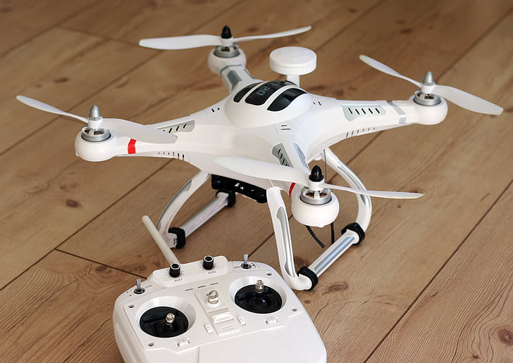 quadrocopter, drone, model, propeller, fly, camera, flying machine