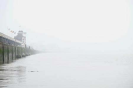natura, paisatge, l'aigua, oceà, Mar, llum, matí