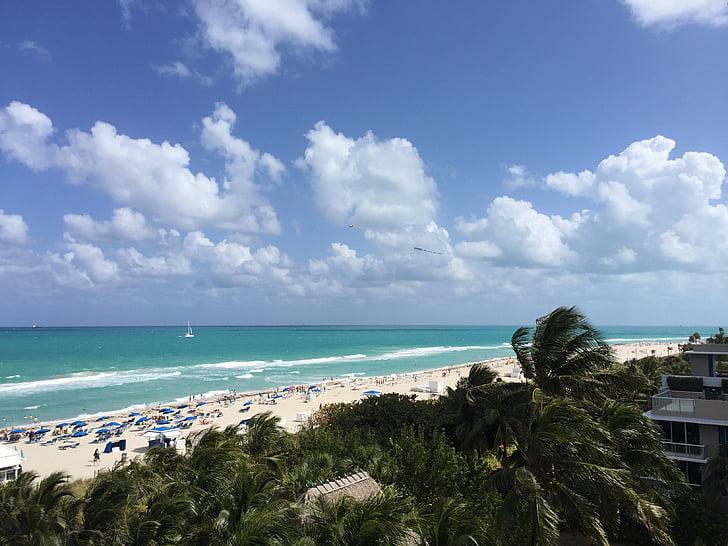 Miami beach, strand, Florida