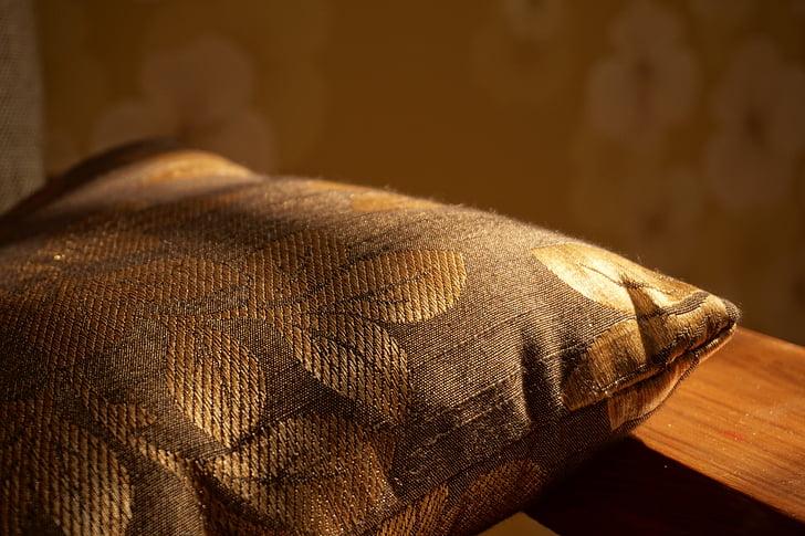 padi, padjad, Daybreak, Kangas, kangad, sisustus, Kuldne päike