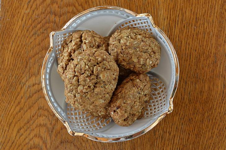 frø kiks, mad, cookies, dessert, Hør, morgenmad, korn