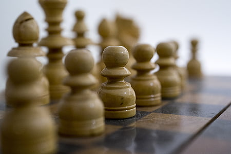 chess, white, game, board, strategy, competition, planning