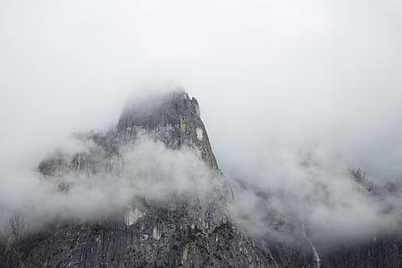 boira, muntanya, muntanya rocosa
