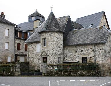 Torreta de casa, antigues cases de pedra, Cases de poble francès, Torre de casa, Cases de França, Cases de poble medievals