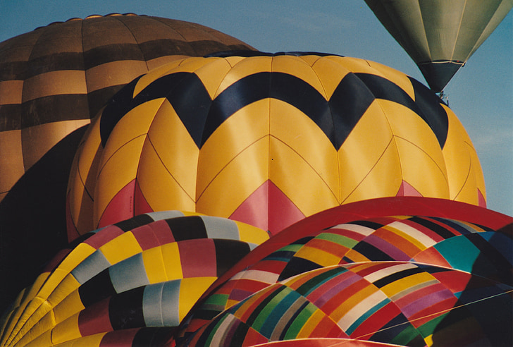 globus aerostàtic, globus, Albuquerque, vibrants, colors