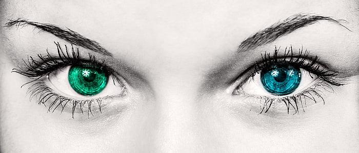 ulls, dona, moda, bonica, Iris, alumnes, cop d'ull