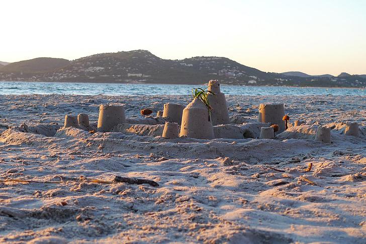 peščeni grad, Beach, pesek
