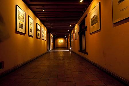 muuseum, Alley, maalid, hoone, Kultuur, arhitektuuri, kunstigalerii