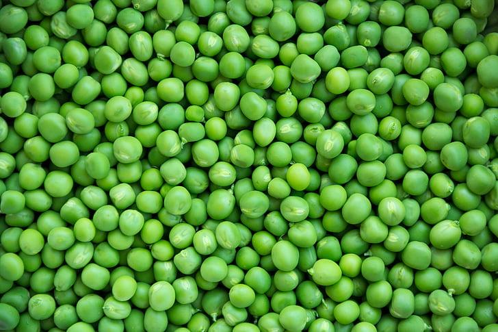 hạt đậu, đậu Hà Lan, rau quả, màu xanh lá cây, thực phẩm, khỏe mạnh, ăn chay