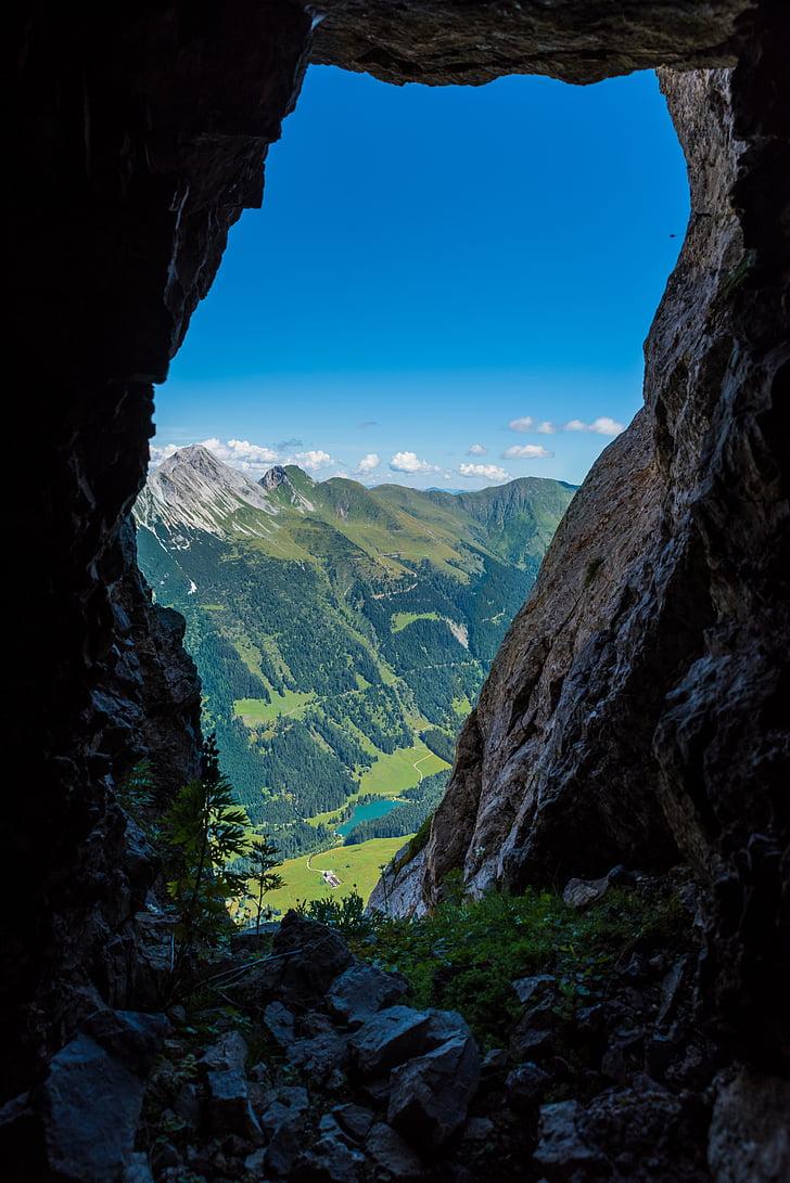paisagem, montanhas, Alpes, natureza, caminhadas, rocha, montanha