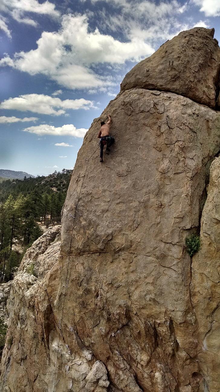 escalada en roca, escalada, Cimera, difícil, repte, esports extrems, esports